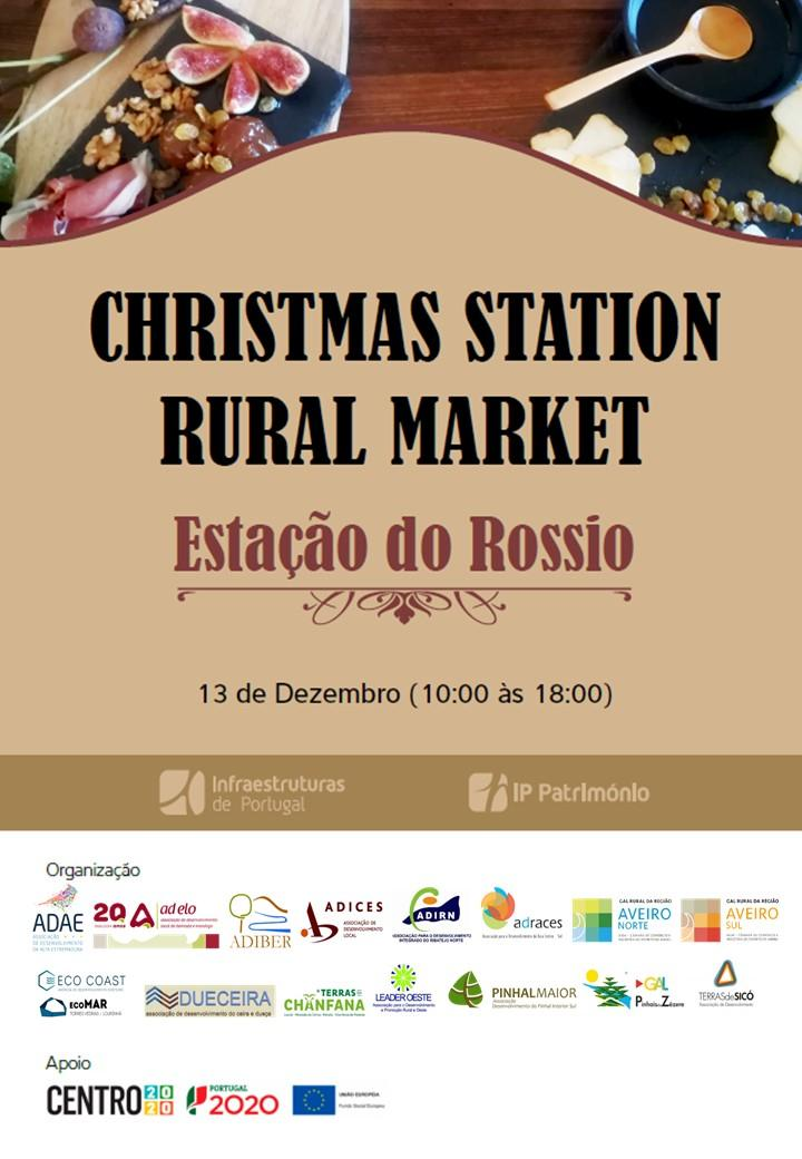 CHRISTMAS STATION RURAL MARKET Natal é no Centro de Portugal!